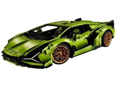 Lego и Lamborghini объединились в производстве автомобилей.