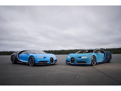 В Парке Горького в Москве покажут Bugatti Chiron собранный из кубиков  Lego