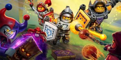 LEGO NEXO KNIGHTS новая серия 2016
