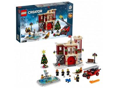 LEGO 10263 - Пожарная часть в зимней деревне
