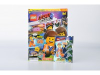 Журнал Лего Муви с фигуркой