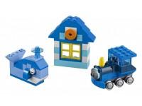 Набор кубиков синего цвета
