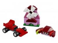 Набор кубиков красного цвета
