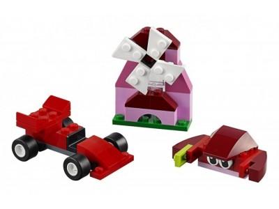 LEGO 10707 - Набор кубиков красного цвета