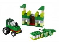 Набор кубиков зеленого цвета