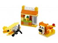 Набор кубиков оранжевого цвета