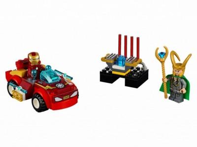 LEGO 10721 - Железный человек против Локи