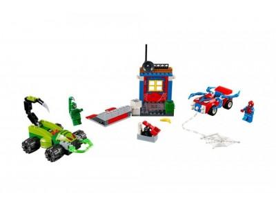 LEGO 10754 - Решающий бой Человека-паука против Скорпиона