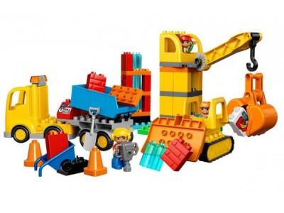 LEGO 10813 - Большая стройплощадка