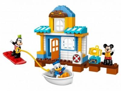 LEGO 10827 - Микки и друзья: пляжный домик