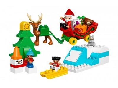 LEGO 10837 - Зимний праздник Санты