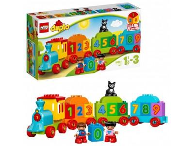 LEGO 10847 - Поезд Считай и играй