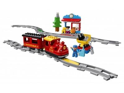 LEGO 10874 - Поезд на паровой тяге