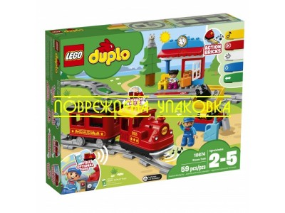 LEGO 10874001 - Поезд на паровой тяге