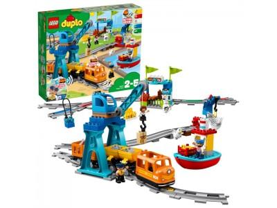 LEGO 10875 - Грузовой поезд