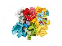 Большая коробка с кубиками