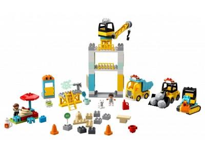 LEGO 10933 - Башенный кран на стройке