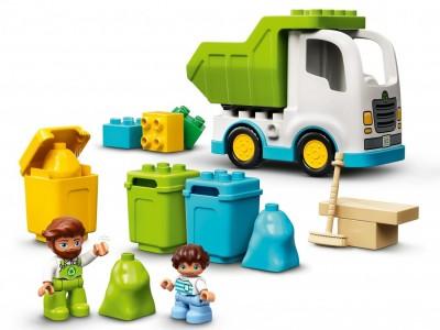 LEGO 10945 - Мусоровоз и контейнеры для раздельного сбора мусора