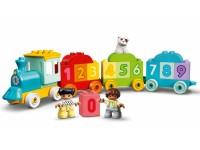 Поезд с цифрами — учимся считать