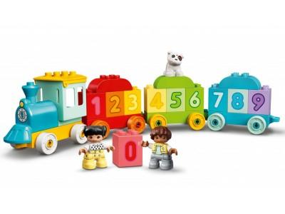 LEGO 10954 - Поезд с цифрами — учимся считать