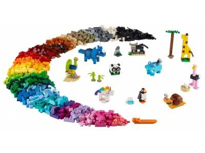 LEGO 11011 - Кубики и зверюшки
