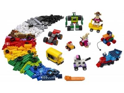 LEGO 11014 - Кубики и колёса