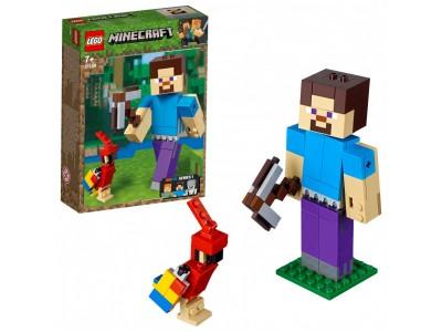 LEGO 21148 - Стив с попугаем