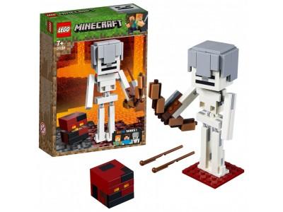 LEGO 21150 - Cкелет с кубом магмы