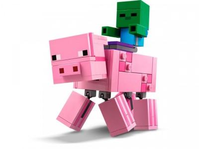LEGO 21157 - Свинья с малышом Зомби