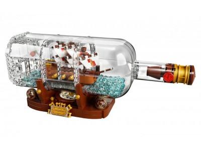 LEGO 21313 - Корабль в бутылке