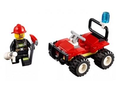 LEGO 30361 - Пожарный на джипе
