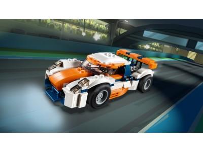 LEGO 31089 - Оранжевый гоночный автомобиль