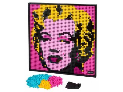 LEGO 31197 - Мерилин Монро Энди Уорхола