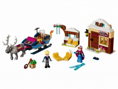 LEGO 41066 - Анна и Кристоф: прогулка на санях