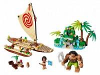Путешествие Моаны через океан