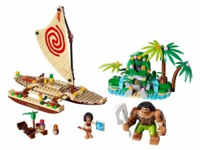 LEGO 41150 - Путешествие Моаны через океан