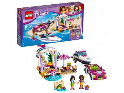 LEGO 41316 - Автомобиль для перевозки катера Андреа