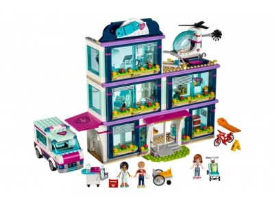 LEGO 41318 - Больница Хартлейк сити