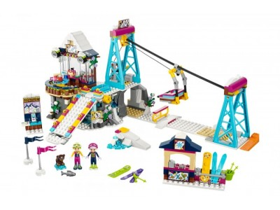 LEGO 41324 - Горнолыжный курорт: Подъемник