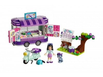 LEGO 41332 - Передвижная творческая мастерская Эммы