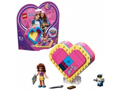 LEGO 41357 - Шкатулка сердечко Оливии