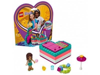 LEGO 41384 - Летняя шкатулка-сердечко для Андреа