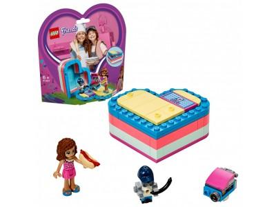 LEGO 41387 - Летняя шкатулка-сердечко для Оливии
