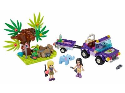 LEGO 41421 - Джунгли. Спасение слоненка