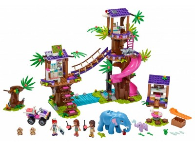 LEGO 41424 - Джунгли. Штаб спасателей