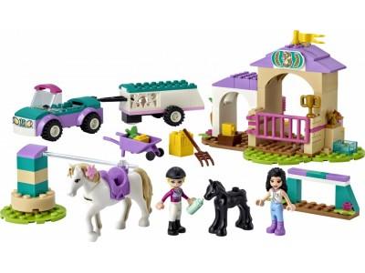 LEGO 41441 - Тренировка лошади и прицеп для перевозки