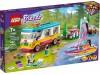 LEGO 41681 - Лесной дом на колесах и парусная лодка