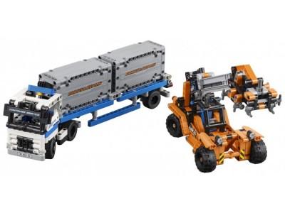 LEGO 42062 - Контейнерный терминал