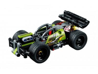 LEGO 42072 - Зеленый гоночный автомобиль