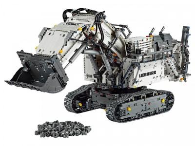 LEGO 42100 - Экскаватор Liebherr R 9800